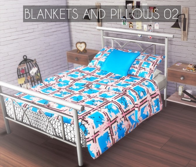 Sims 4 Blankets and Cushions 02 at Descargas Sims