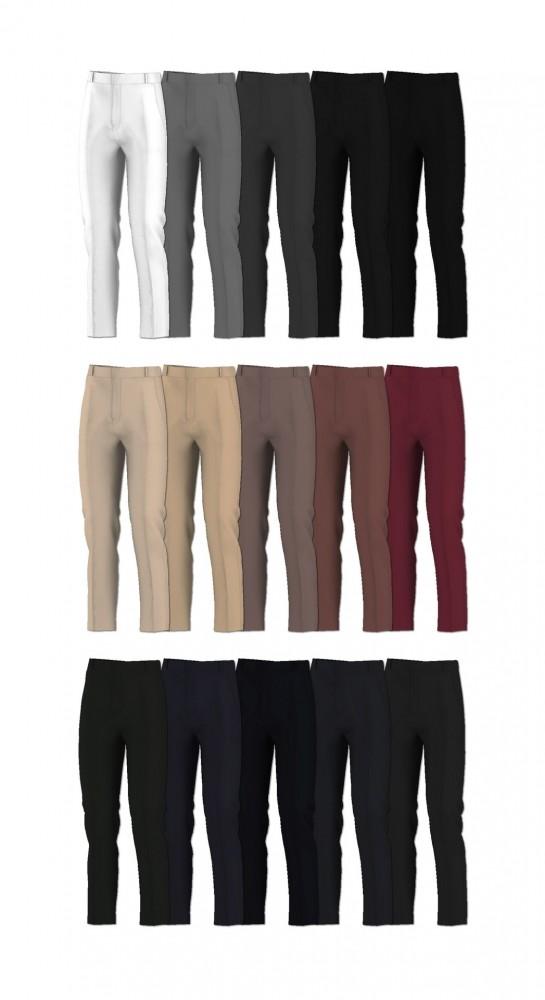 Basic sweater & slacks at Rona Sims image 4623 545x1000 Sims 4 Updates