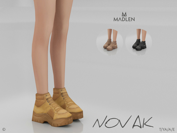 Sims 4 Madlen Novak Boots by MJ95 at TSR