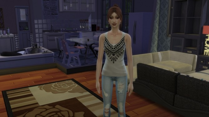 Sims 4 Bohemian Style tops by Nalae at Mod The Sims
