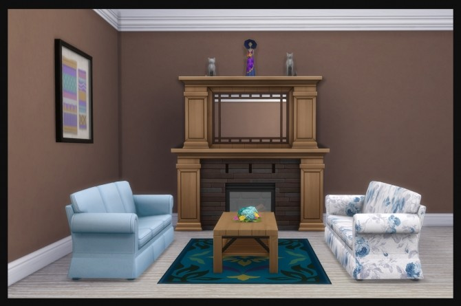 Sims 4 Hipster Hugger Sofa Standalone Unlocked by Simmiller at Mod The Sims