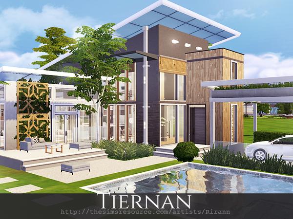 Tiernan house by Rirann at TSR image 520 Sims 4 Updates