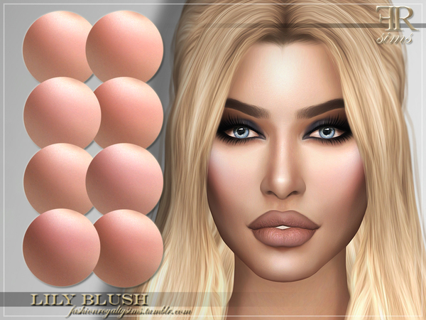 FRS Lily Blush by FashionRoyaltySims at TSR image 5217 Sims 4 Updates