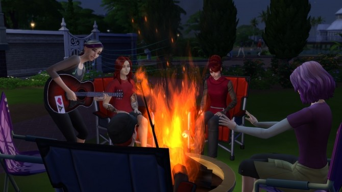 Campfire   No Fire by DemonOfSarila at Mod The Sims image 544 670x377 Sims 4 Updates