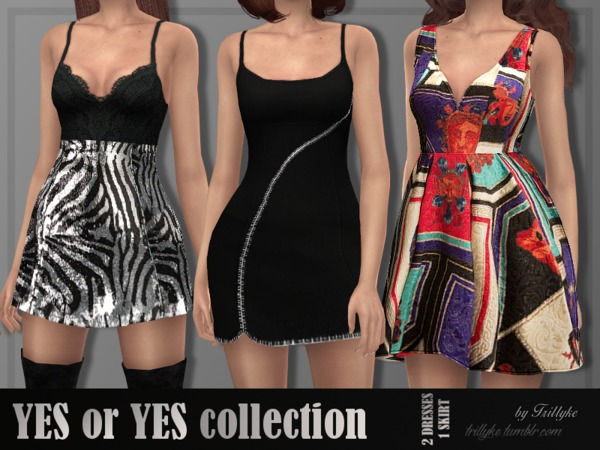 YES or YES collection by Trillyke at TSR image 547 Sims 4 Updates
