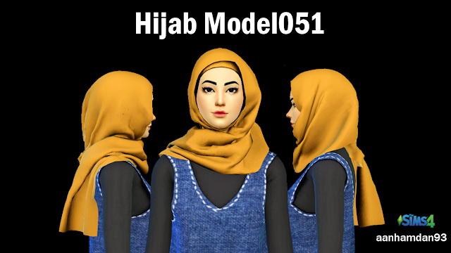 Hijab Model051 & 052 With Carina Collections at Aan Hamdan Simmer93 image 5614 Sims 4 Updates