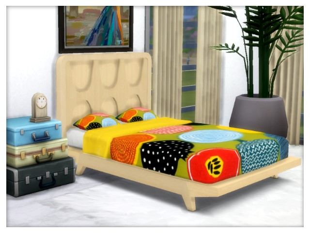 Beds recolors Get Famous by Oldbox at All 4 Sims image 5616 Sims 4 Updates