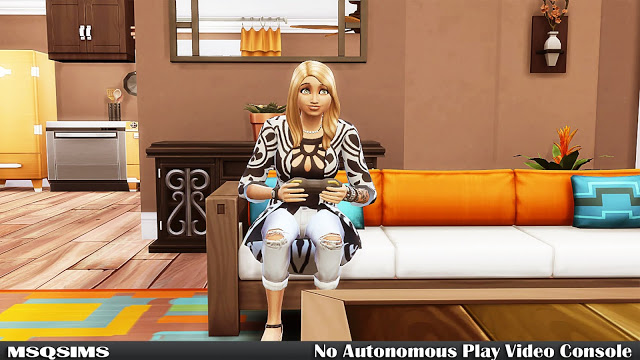 No Autonomous Play Video Console at MSQ Sims image 565 Sims 4 Updates
