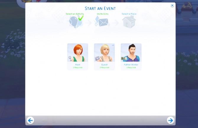 Sims 4 Christmas Party Event at KAWAIISTACIE