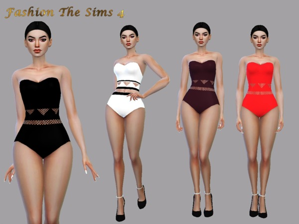 Sims 4 Swimsuit Lunna by LYLLYAN at TSR