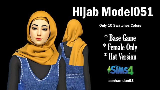 Hijab Model051 & 052 With Carina Collections at Aan Hamdan Simmer93 image 5714 Sims 4 Updates