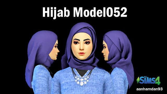 Hijab Model051 & 052 With Carina Collections at Aan Hamdan Simmer93 image 5814 Sims 4 Updates