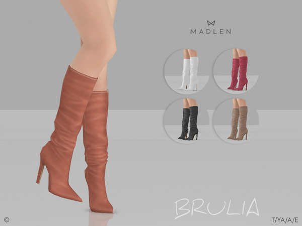 Madlen Brulia Boots by MJ95 at TSR image 5817 Sims 4 Updates