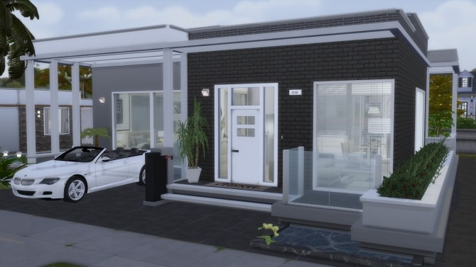 SMALL MODERN HOUSE at Dinha Gamer image 595 670x377 Sims 4 Updates