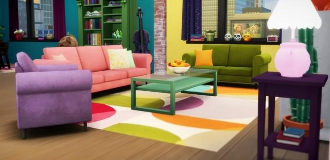 Suede seating set at Saurus Sims image 599 670x326 Sims 4 Updates
