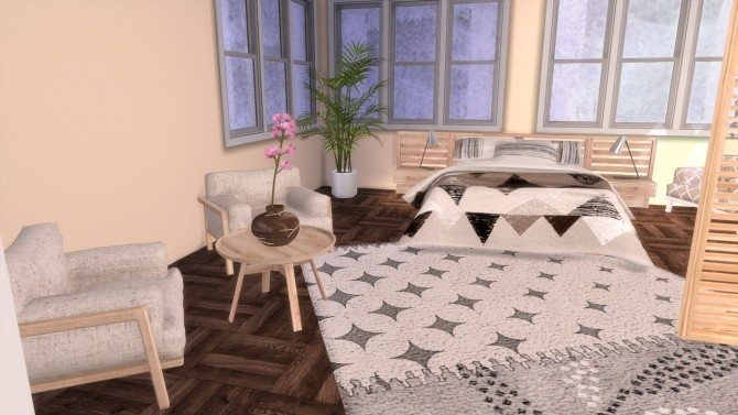 Sims 4 The Nest house at Simming With Mary
