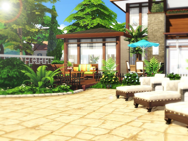 Grace house by MychQQQ at TSR image 617 Sims 4 Updates