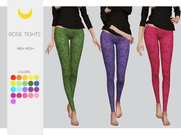 Rose Tights by Kalewa a at TSR image 624 Sims 4 Updates