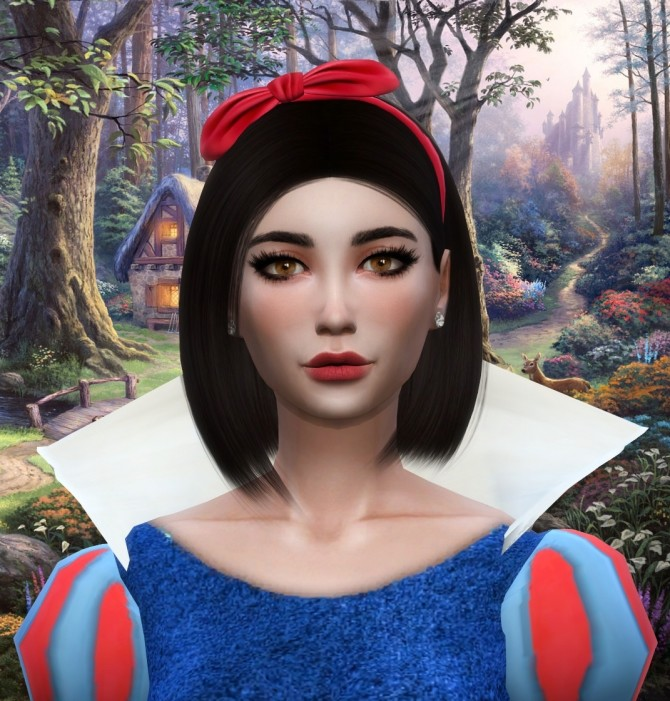 Sims 4 Snow White at MODELSIMS4