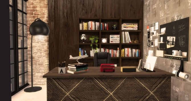 The Man Cave by RubyRed at Ruby's Home Design image 630 670x355 Sims 4 Updates