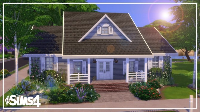 Sims 4 Traditional House at MODELSIMS4