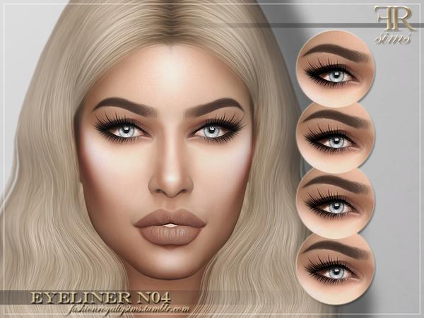 FRS Eyeliner N04 by FashionRoyaltySims at TSR image 642 Sims 4 Updates