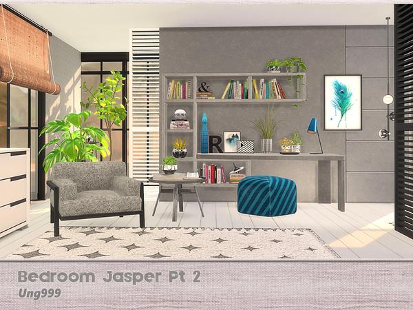 Sims 4 Bedroom Jasper Pt 2 by ung999 at TSR
