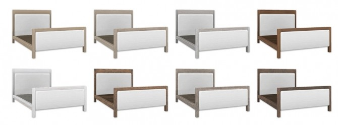 Sims 4 Bed Frame at SimPlistic