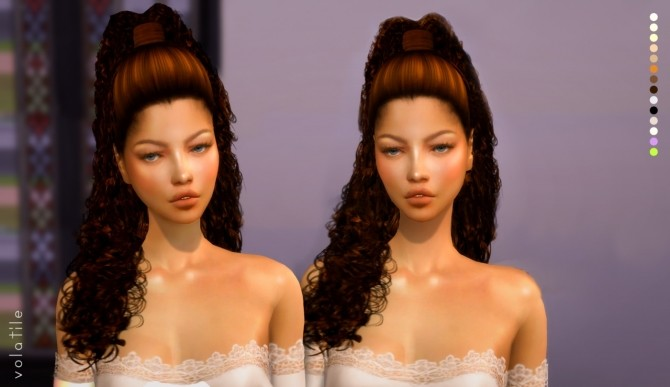 Vanity Hair at Volatile Sims image 658 670x387 Sims 4 Updates