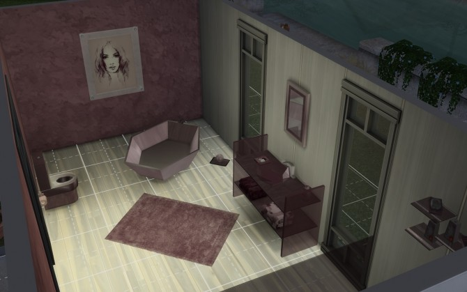Sims 4 Tawni Bathroom Set by fire2icewitch at Mod The Sims