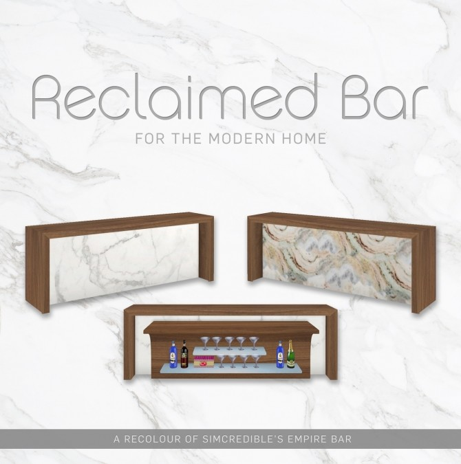 Reclaimed Bar at SimPlistic image 666 670x675 Sims 4 Updates