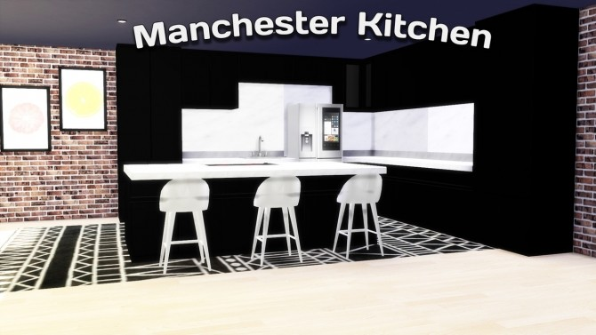 Sims 4 Manchester Kitchen at Simming With Mary