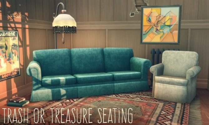 TRASH OR TREASURE SEATING at Picture Amoebae image 6712 670x402 Sims 4 Updates