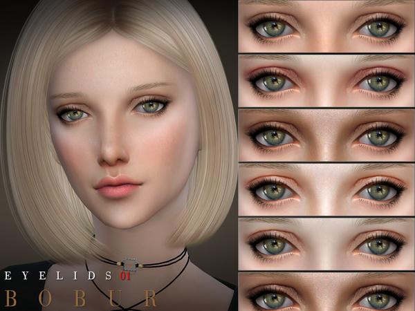 Sims 4 Eyelids 01 by Bobur3 at TSR