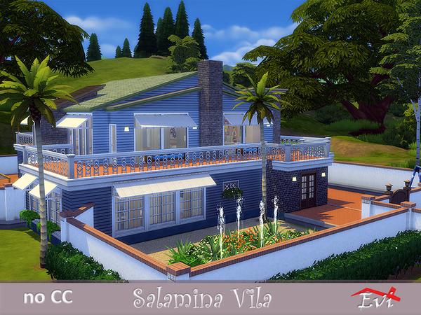Sims 4 Salamina Villa by evi at TSR