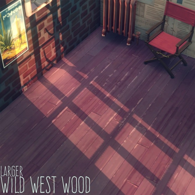 WILD WEST WOOD FLOORS at Picture Amoebae image 7118 670x670 Sims 4 Updates