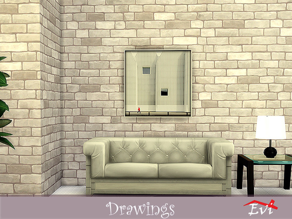 Drawings by evi at TSR image 716 Sims 4 Updates