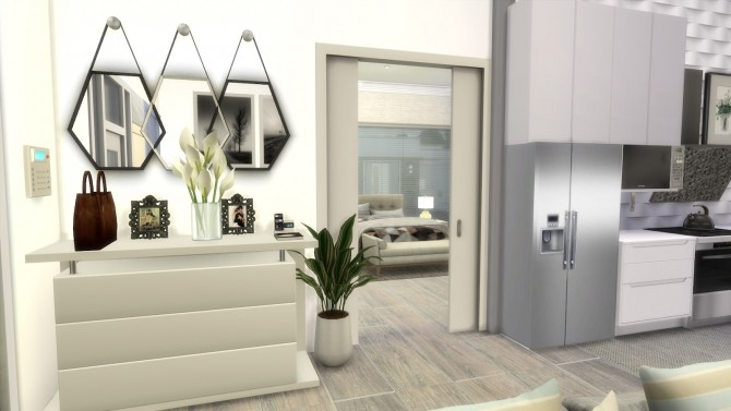 SMALL MODERN HOUSE at Dinha Gamer image 719 670x377 Sims 4 Updates