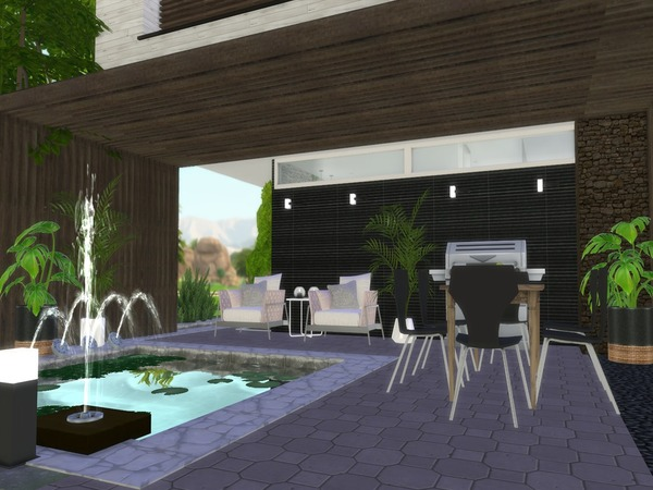 Araceli modern home by Suzz86 at TSR image 720 Sims 4 Updates