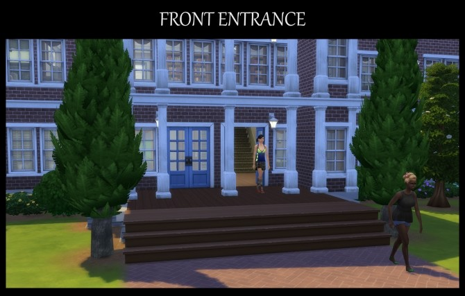 Sims 4 Lakeside High School Fully Functional by Simmiller at Mod The Sims