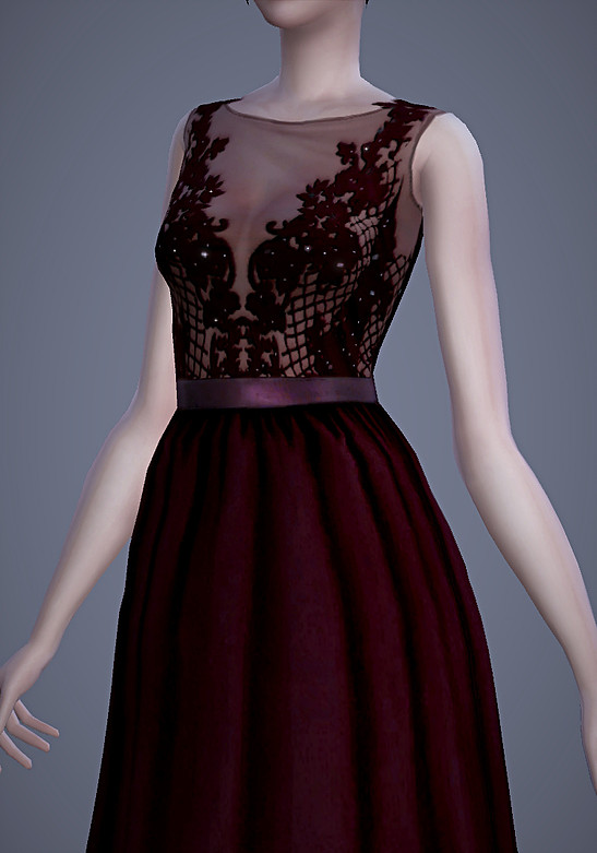 Persephone Dress at Magnolian Farewell image 73 Sims 4 Updates