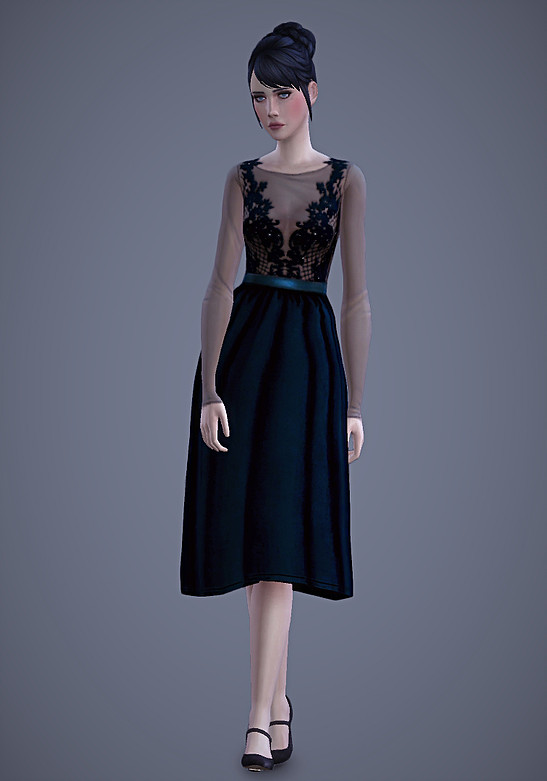 Persephone Dress at Magnolian Farewell image 74 Sims 4 Updates