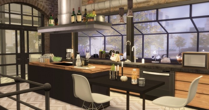 The Man Cave by RubyRed at Ruby's Home Design image 740 670x355 Sims 4 Updates