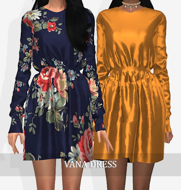 VANA DRESS at Grafity cc image 7411 Sims 4 Updates