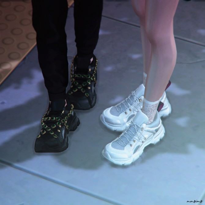 Flashtrek Sneakers and Crystal strap at MMSIMS image 749 670x670 Sims 4 Updates