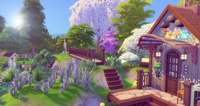 Sims 4 Hill Park by Angerouge at Studio Sims Creation