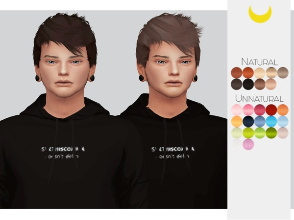 Hair Retexture Male 03 Stealthics Persona by Kalewa a at TSR image 752 Sims 4 Updates