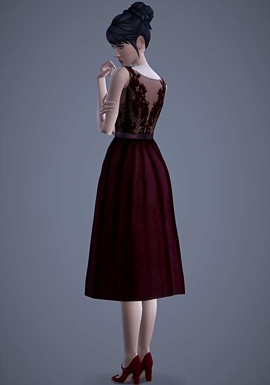 Persephone Dress at Magnolian Farewell image 76 Sims 4 Updates
