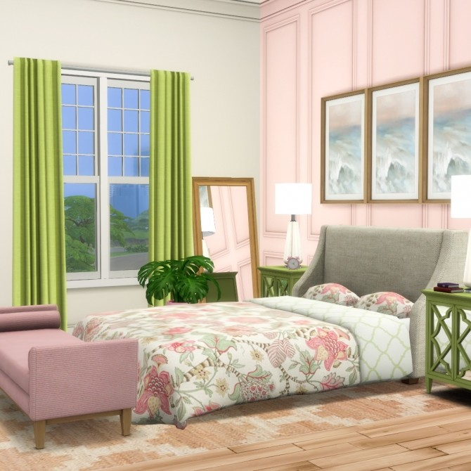 Splendid Panelling Three New Painted Wall Styles at Simsational Designs image 767 670x670 Sims 4 Updates