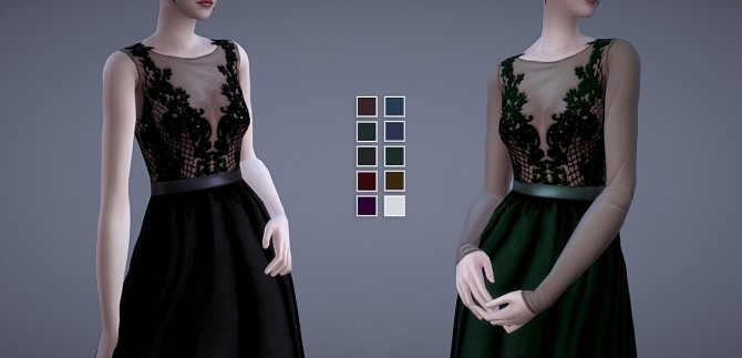 Persephone Dress at Magnolian Farewell image 77 670x323 Sims 4 Updates
